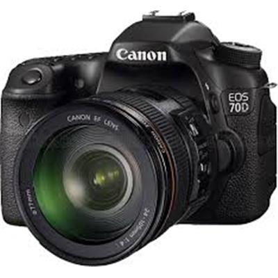 Canon 70D + 24-105mm IS Lens  DSLR Fotoğraf Makinası