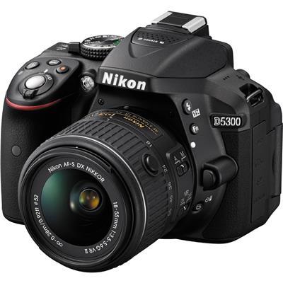 Canon D5300 + 18-55mm VR2 Lens DSLR Fotoğraf Makinası