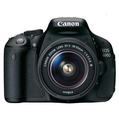 Canon EOS 600D + 18-55MM Lens Kit DSLR Fotoğraf Makinası
