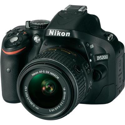 Nikon D5200 18-55 VR2 Lens  DSLR Fotoğraf Makinası