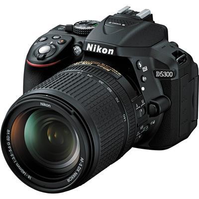 Nikon D5300 + 18-140mm VR Lens DSLR Fotoğraf Makinası